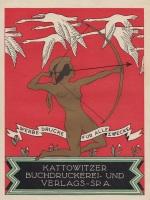 Ulotka-reklamowa-Kattowitzer-Buchdruckerei-und-Verlag-okres-międzywojenny